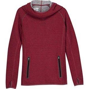 Saucony Ridge Runner Wool Hoodie Size Small